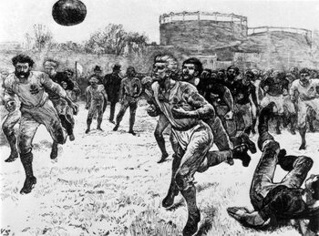 On this day: eerste internationale rugbymatch ooit