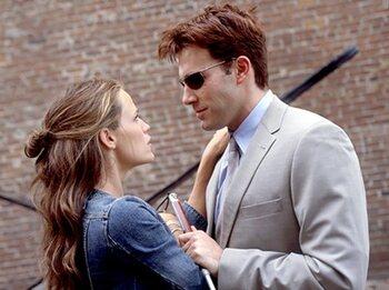Ben Affleck et Jennifer Garner (Daredevil)