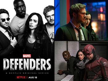 Nu op Netflix: superhelden à volonté in Marvel's The Defenders!