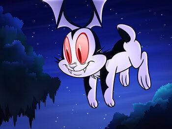 … en Bunnicula, het vroegere huisdier van Dracula!