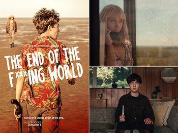 The End of The F***ing World: gitzwart en gruwelijk goed