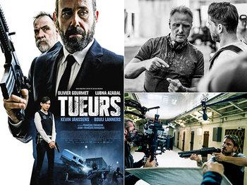Making-of: Kevin Janssens als gangster in 'Tueurs'!