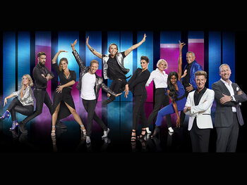 Zij zetten hun beste beentje voor in Dancing with the Stars