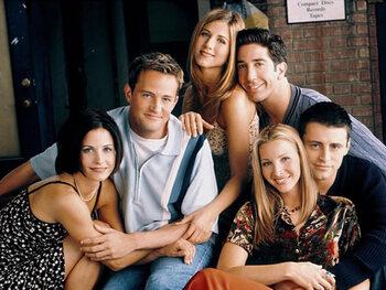 Monica, Chandler, Rachel, Ross, Phoebe & Joey in Friends