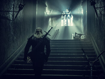 Een monsterjager, een tovenares en een weggelopen prinses