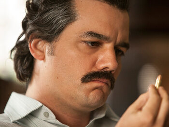 Wagner Moura is Pablo Escobar