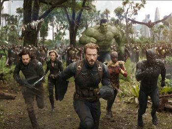 Top 5: 5. Avengers: Infinity War - Part I