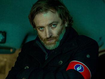 Bert Haelvoet als Simon Roelandts, inspecteur bij de Federale gerechtelijke politie