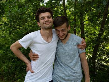 Jacub en Jurgis Pavlovic (Vildan Maksuti en Almedin Ismaili)
