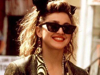 Quand Madonna fait dans la dentelle