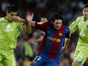 Lionel Messi vs Getafe (2007)