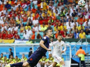 Robin Van Persie vs Spanje (2014)