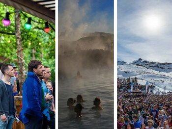 11 festivals die doorgaan op een onverwachte locatie