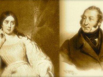 Isabella Colbran et Gioachino Rossini