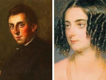 La Comtesse Delphina Potocka et Frédéric Chopin