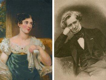 Harriet Smithson et Hector Berlioz
