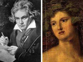 Gravin Josephine Brunsvik en Ludwig van Beethoven