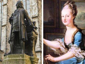 Anna Magdalena en Johan Sebastiaan Bach