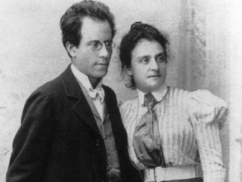 Alma en Gustav Mahler