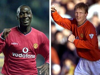 Andy Cole/Teddy Sheringham