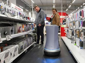 Des robots pour réapprovisionner les rayons