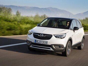 Opel Crossland X: in het kort