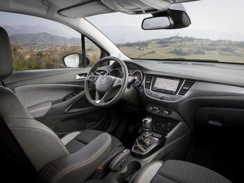 Opel Crossland X: interieur