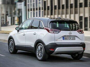 Opel Crossland X: onder de motorkap