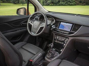 Opel Mokka X: interieur