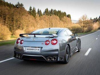 Nissan GT-R: de motor!