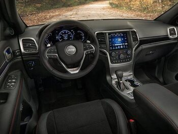 Jeep Grand Cherokee Trailhawk: interieur