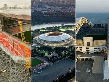 Àla découverte des stades du Mondial 2018 en Russie