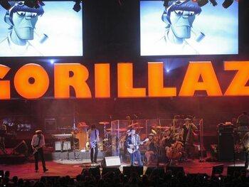 Gorillaz, un groupe du virtuel au réel