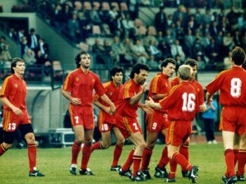 Stunt tegen Sovjet-Unie op WK 1986