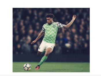 Het Nigeriaanse shirt