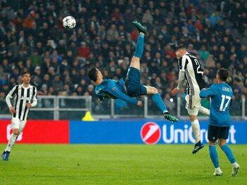 Weergaloze omhaal tegen Juventus