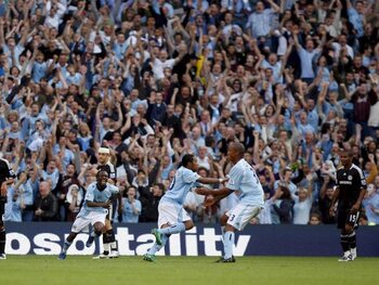 """Here's to you Vincent Kompany"""