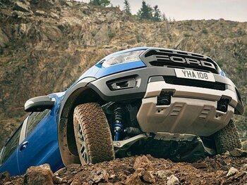 Ford Ranger Raptor, de motor