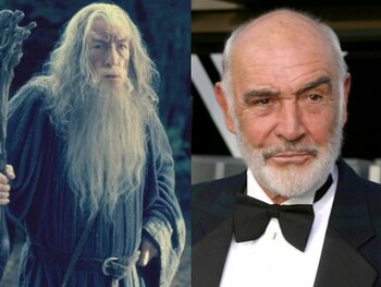 Sean Connery - Lord of the Rings