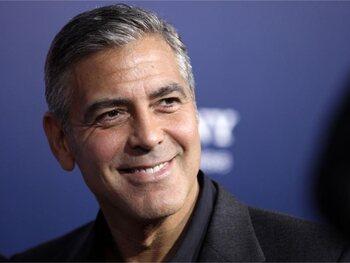 George Clooney : joueur de baseball