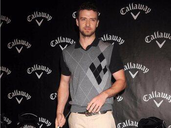 Justin Timberlake: golf