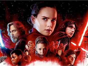 Star Wars: The Last Jedi - $ 262 miljoen