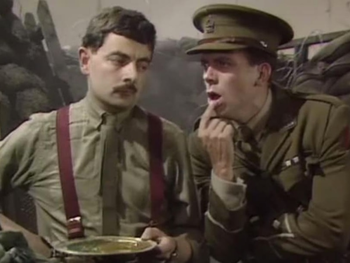 Absurd in 'Blackadder'
