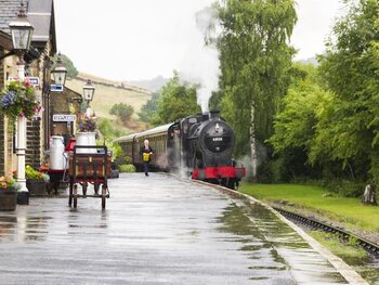 West Yorkshire: Keighley and Worth Valley Railway