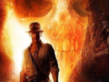 Een 'unidentified object' bij Indiana Jones
