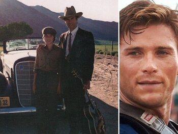 Clint Eastwood et ses fils Kyle et Scott