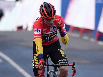 Roglic kan zich troosten met winst in een spannende Vuelta