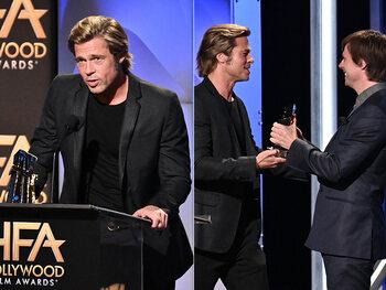 """Brad Pitt, """"een fijne, slimme en gevoelige mens"""""""