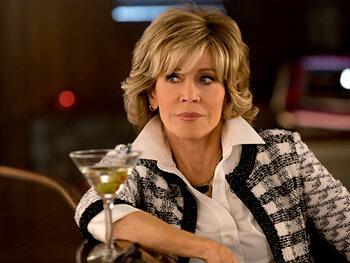 Jane Fonda is Grace