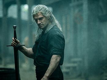 Henry Cavill is Geralt van Rivia